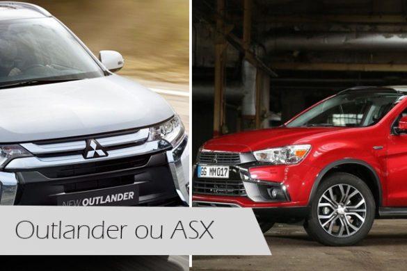 Outlander ou ASX