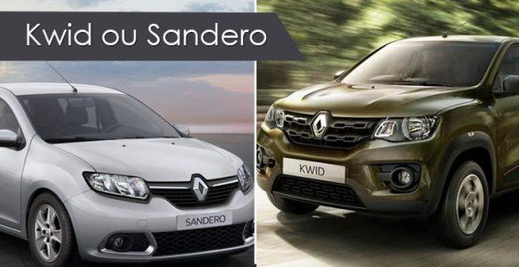 Kwid ou Sandero
