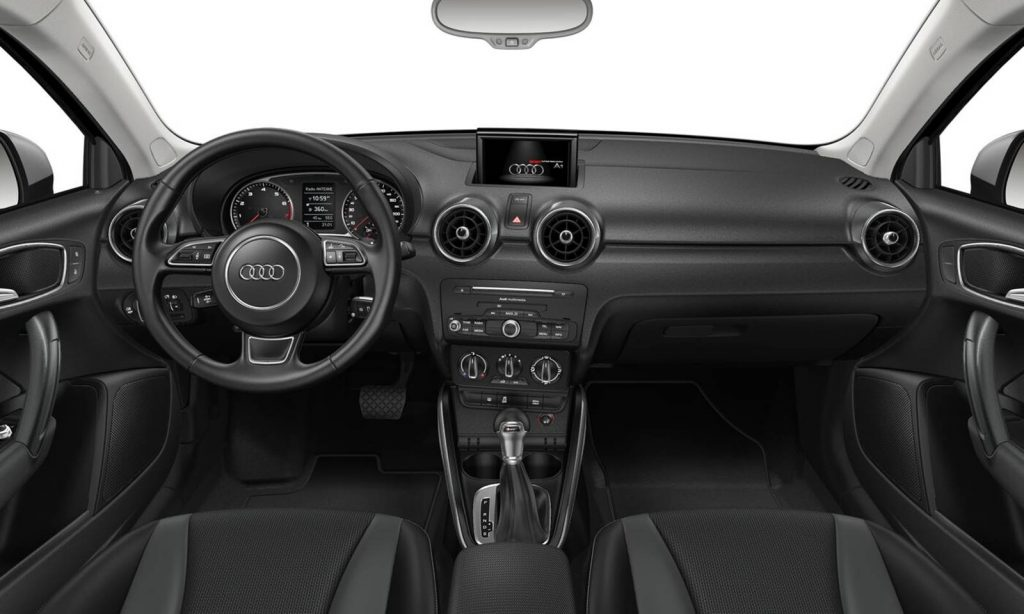 novo audi a1 sportback 2018 pre o interior itens de s rie fotos. Black Bedroom Furniture Sets. Home Design Ideas